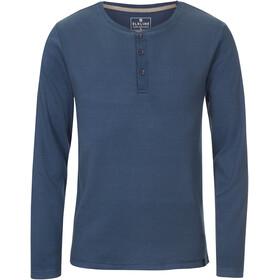 Elkline Whereever T-shirt à manches longues Homme, bluemelange